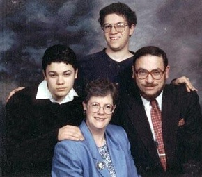 The Martin Family - clockwise from the bottom:  Meredith, Rod, Chad, and Pastor Jim